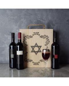 Kosher Wine Trio Gift Basket