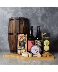 Cheesy Craft Beer Basket