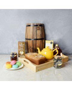 Cookies & Tea Gift Set, gourmet gift baskets, gift baskets, gourmet gifts