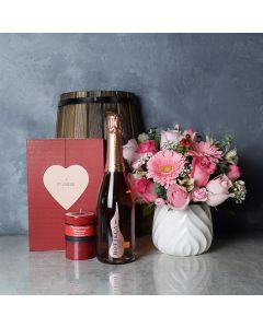 Mississauga Valentine's Day Basket, champagne gift baskets, chocolate gift baskets, Valentine's Day gifts, gift baskets, romance