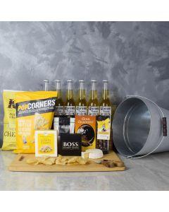 Annex Beer & Snacks Basket, gift baskets, gourmet gift baskets, beer gift baskets