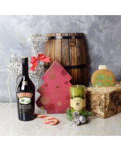 Spirit of the Season Gift Set, liquor gift baskets, gourmet gifts, gifts