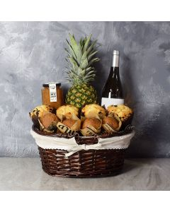 Tropical Muffin Gift Basket