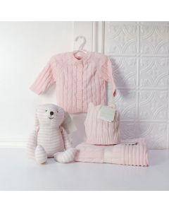 CUTE & PINK BABY GIRL GIFT SET