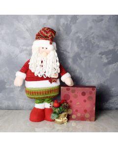Santa & Gourmet Chocolates Gift Set, gift baskets, gourmet gifts, gifts