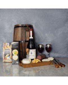 Gourmet Meat & Cheese Wine Gift Basket, wine gift baskets, gourmet gift baskets, gift baskets