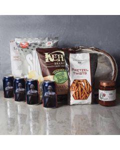 Kosher Beer & Snacks Basket
