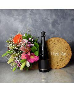 """I Love You"" Cookie Cake Gift Set"