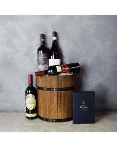 The Wine and Chocolate Collection gift basket, gift baskets, gourmet gift baskets, gift baskets