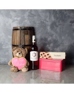 Niagara Valentine's Day Gift Basket, wine gift baskets, gourmet gift baskets, Valentine's Day gifts, gift baskets, romance