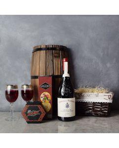 Cheese, Crackers & Wine Gift Basket, wine gift baskets, gourmet gift baskets, gift baskets