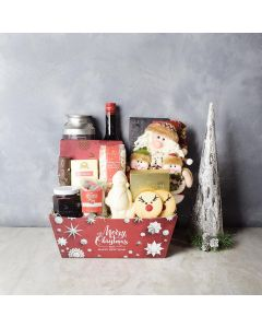 Twas the Night Before Christmas Gift Set, liquor gift baskets, gourmet gifts, gifts