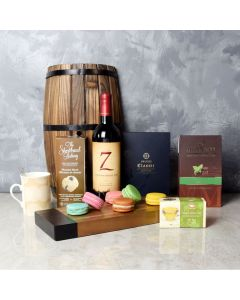 Fantastic Sweets & Beverage Gift Set, wine gift baskets, gourmet gifts, gifts
