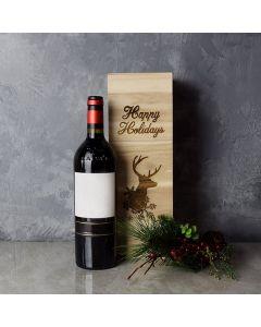 Christmas Wine Box