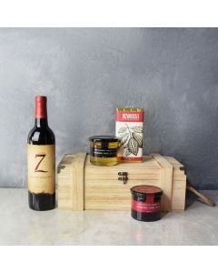 Tastes of the Vineyard Gift Set, wine gift baskets, gourmet gifts, gifts