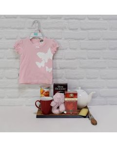 DOLL UP THE BABY GIRL GIFT SET, baby girl gift basket, welcome home baby gifts, new parent gifts