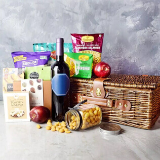 Diwali Gift Basket With Sparkling Gifts & Goodies New York City