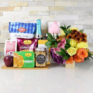 Have A Happy & Bubbly Diwali Gift Set New York City