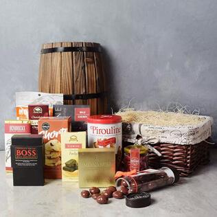 Absolute Chocolate Smorgasboard Gift Basket New York City