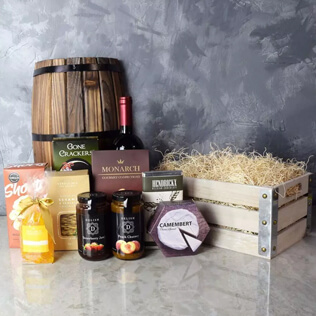 Oakridge Wine & Snack Gift Crate New York City