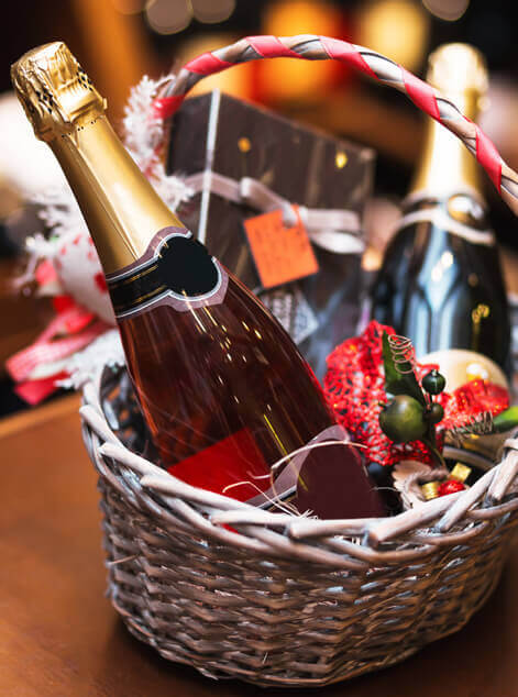 Champagne Gift Baskets Delivery Manchester