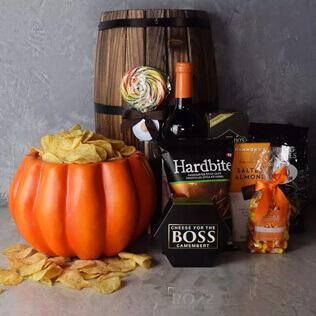 Plump Pumpkin Gift Basket New York City