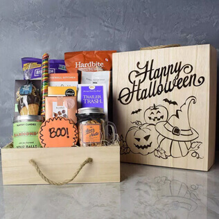 Trick Or Treat Snacking Crate New York City