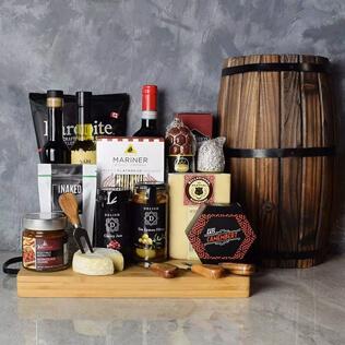 Rustic Italian Gourmet Gift Basket New York City