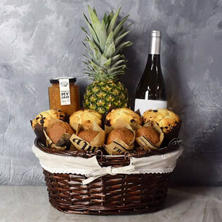 Tropical Muffin Gift Basket New York City