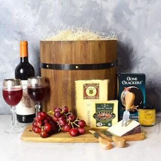 Wine & Cheese Barrel New York City
