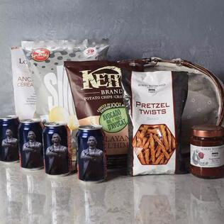 Kosher Beer & Snacks Basket New York City