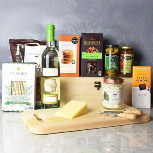 Kosher Wine & Cheese Crate New York City