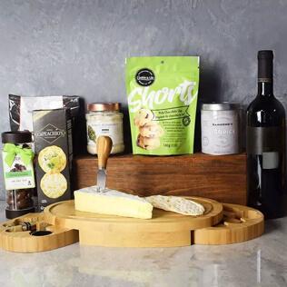 Kosher Wine & Cheese Party Crate New York City