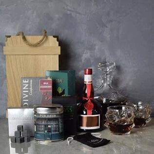 Elaborate Liquor & Decanter Crate Manchester