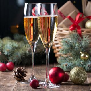 Champagne gift baskets Ampere