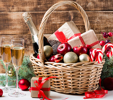 Christmas Gift Baskets Delivered to New York City