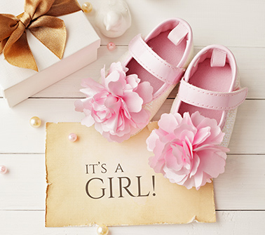 Baby Girls Gift Baskets Delivered to New York City