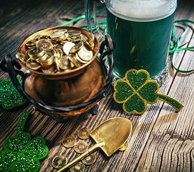 St. Patrick's Day Gift Baskets Delivered to New York City
